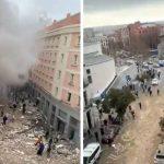 Dos fallecidos  y ocho heridos en  explosión en pleno centro de Madrid