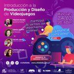 Introducción a la Producción y Diseño de Videojuegos, en La Falda