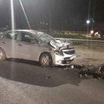 FALLECIÓ MUJER EN LA MADRUGADA  DE HOY , PRODUCTO DE UN ACCIDENTE VEHICULAR