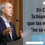 Schiaretti: Las escuelas no se cierran y van a funcionar todo el año con los cuidados que impone la pandemia