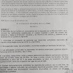 LA CUMBRE  DECRETÓ NUEVAS RESTRICCIONES DESDE HOY Y HASTA EL 4 DE JUNIO