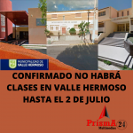EN VALLE HERMOSO NO HABRA CLASES EN NINGUN NIVEL