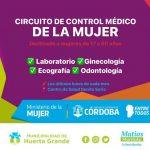 Huerta Grande: Circuito de control médico de la mujer
