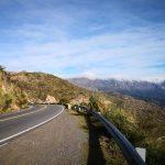 Quebrada del Condorito y hay corte de ruta