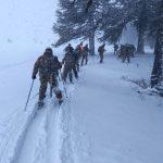 Nuevos esquiadores militares en Neuquén