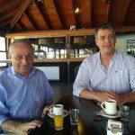 Agustin Spaccesi y  Jorge Scala  candidatos a senador y diputado por el partido Republicano en diálogo con Multimedios Prisma 24