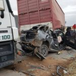 Accidentes Viales tras el fuerte viento en autopista Cordoba-Rosario