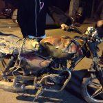 La Cumbre: chocó un motociclista que hacía delivery y se dio a la fuga